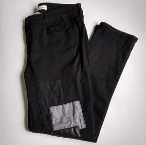 Est. 1946 Denim black patchwork jeans